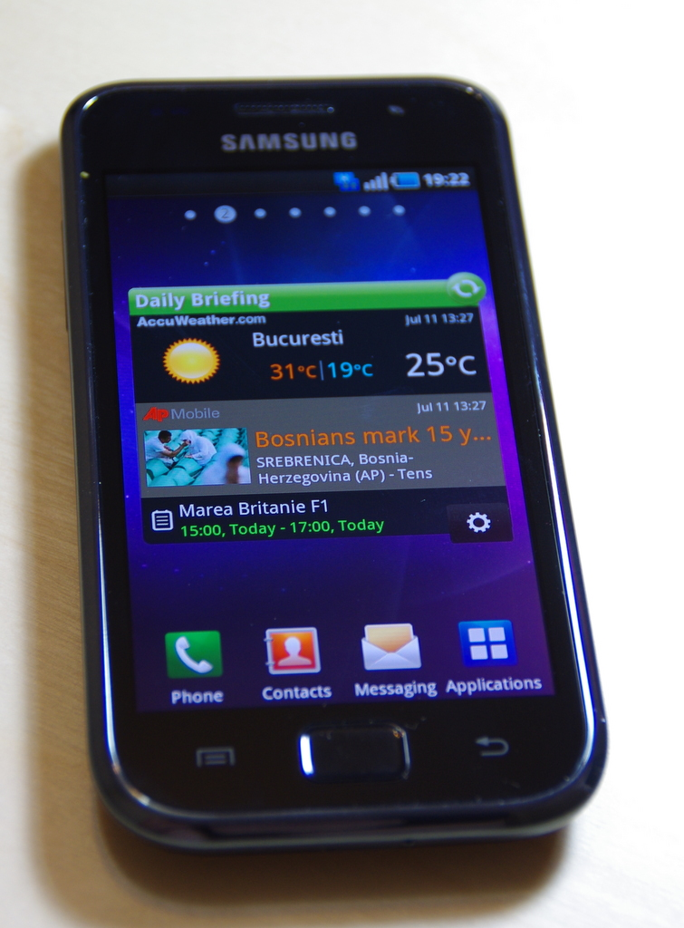 Review Samsung Galaxy S