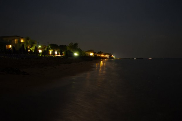 plaja din corfu