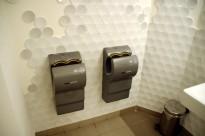 uscătoare dyson la toaletă
