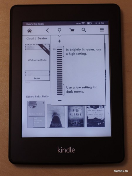 kindle paperwhite 14 lumina 450x600