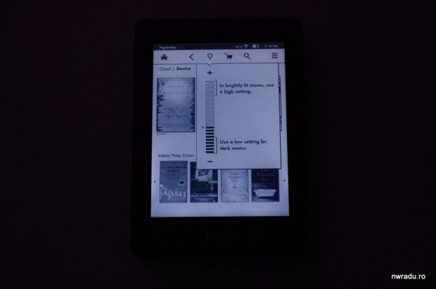 kindle paperwhite 22 lumina 620x411