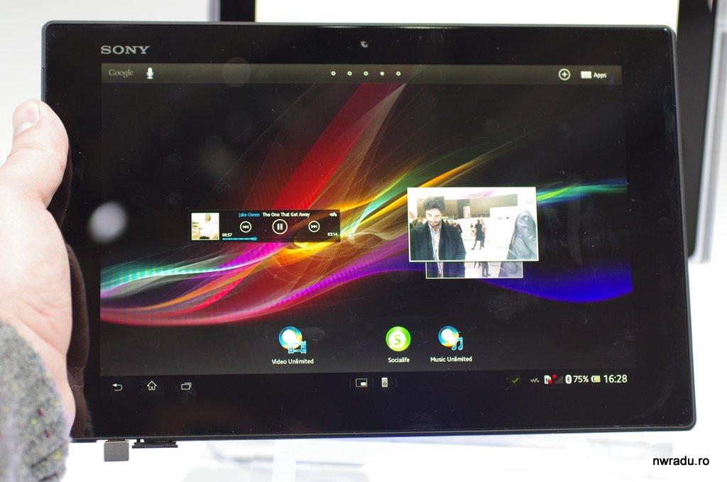 Sony Xperia Tablet Z – excelența în tablete – nwradu blog