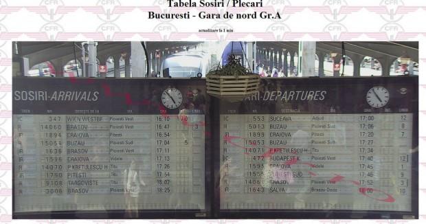 tabela_gara_de_nord