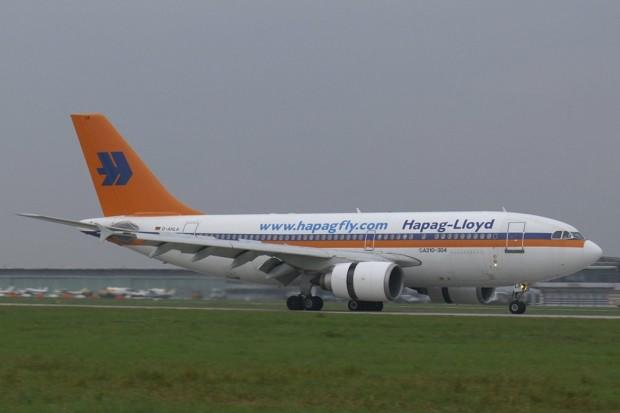 Airbus A310 seamănă cu A319, dar are 4+4 roți.