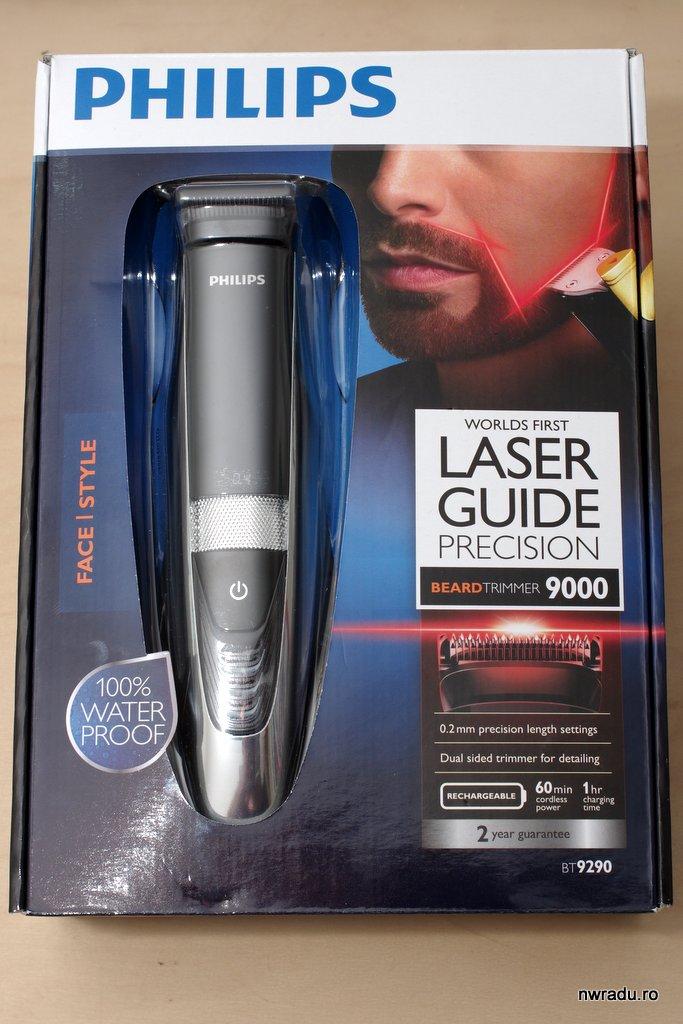 prezentare philips beard trimmer 9290 ghidaj cu laser pentru modelare preci. Black Bedroom Furniture Sets. Home Design Ideas