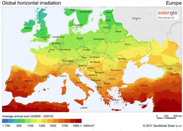harta_europa_energie_solara