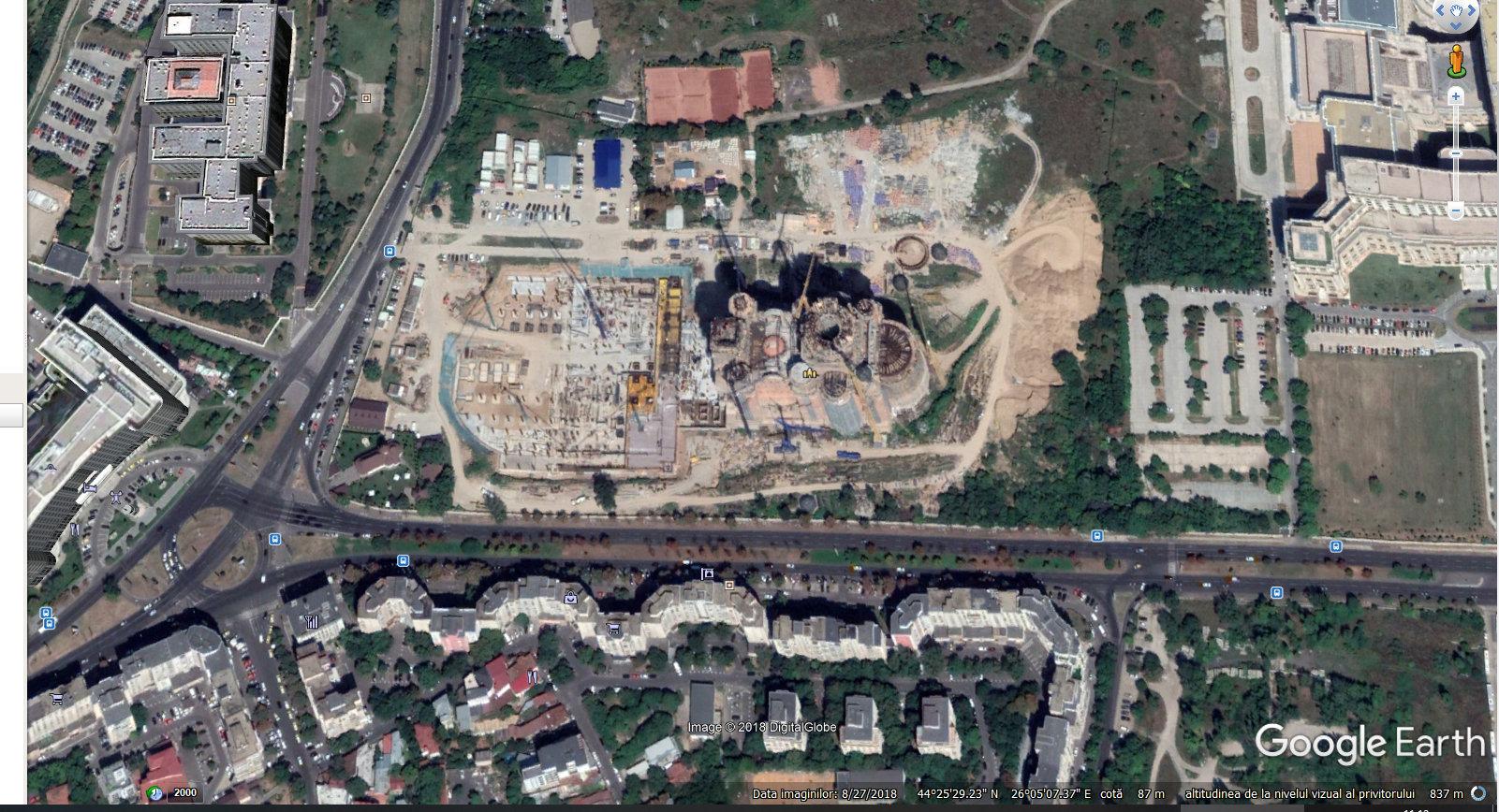 Harta Romaniei Satelit Google