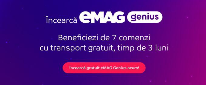 eMAG extinde perioada de testare Genius la 3 luni și acoperă toate reședințele de județ și alte 353 de localități